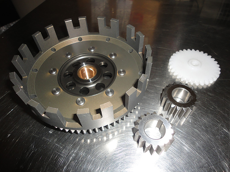 Exhaust system and muffler for Beta 50cc Minarelli AM6