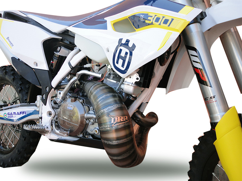 Exhaust system for Husqvarna 300cc