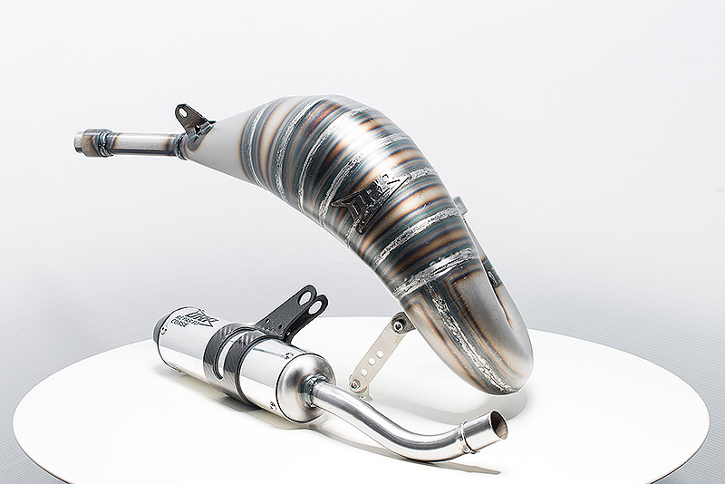 Yamaha 125 2018 exhaust system and muffler 5